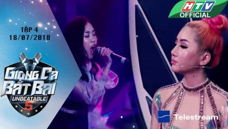 Xem Show GAMESHOW Giọng Ca Bất Bại Tập 04 : Xuất hiện hai soái ca lật đổ ghế ngôi sao của Minh Châu và Tuyết Mai HD Online.
