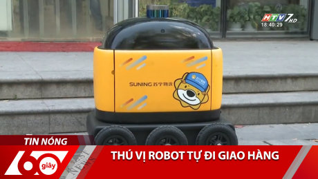 Thú Vị Robot Tự Đi Giao Hàng