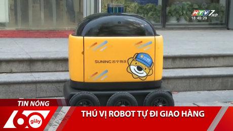Xem Clip Thú Vị Robot Tự Đi Giao Hàng HD Online.