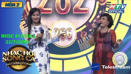 Xem Show GAMESHOW Nhạc Hội Song Ca Mùa 2 Tập 15 : Hồ Trung Dũng, Hồng Nhung 2 lần phá kỷ lục HD Online.