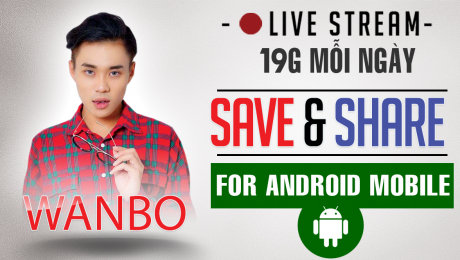 LIVE EVENT: SAVE & SHARE
