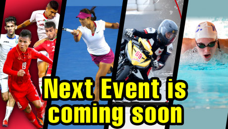 NEXT EVENT IS COMING SOON