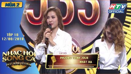Xem Show TV SHOW Nhạc Hội Song Ca Mùa 2 Tập 18 : Jolie Phương Trinh - Lê Thiện Hiếu giành 2 vé vàng HD Online.