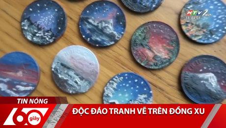 Độc Đáo Tranh Vẽ Trên Đồng Xu