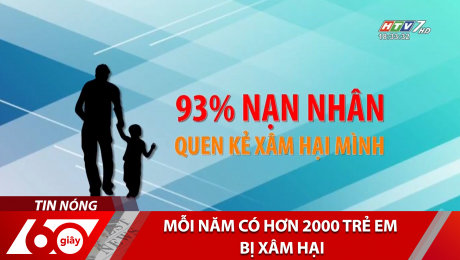 Mỗi Năm Có Hơn 2000 Trẻ Em Bị Xâm Hại