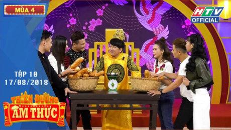 Xem Show TV SHOW Thiên Đường Ẩm Thực Mùa 4 Tập 10 : Sam nằm vạ, nhờ Trường Giang phân xử HD Online.