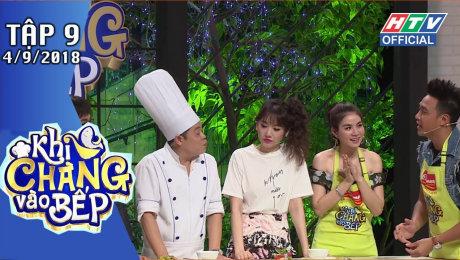 Xem Show GAMESHOW Khi Chàng Vào Bếp Tập 09 : Hữu Tín nấu ăn theo hướng dẫn của Lê Giang HD Online.