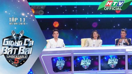 Xem Show GAMESHOW Giọng Ca Bất Bại Tập 11 :  Phan Mạnh Quỳnh ngồi ghế nóng cùng Mỹ Tâm, Mr Đàm HD Online.