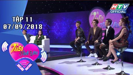 Xem Show GAMESHOW Tần Số Tình Yêu Tập 11 : Puka, Diệp Tiên không ngần ngại thể hiện tình cảm HD Online.