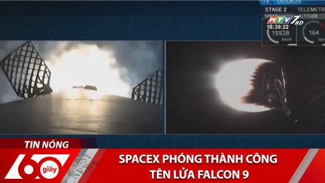 Xem Clip Spacex Phóng Thành Công Tên Lửa Falcon 9 HD Online.