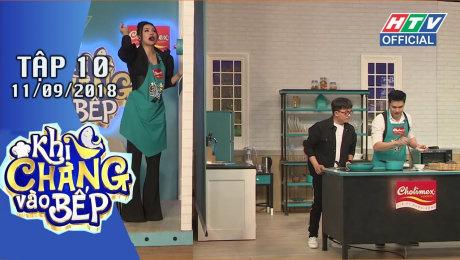 Xem Show GAMESHOW Khi Chàng Vào Bếp Tập 10 : Pông Chuẩn - Tùng Min suýt giận nhau vì nấu ăn HD Online.
