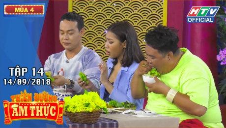 Xem Show TV SHOW Thiên Đường Ẩm Thực Mùa 4 Tập 14 : Trường Giang chơi khó khiến dàn khách mời té lăn HD Online.