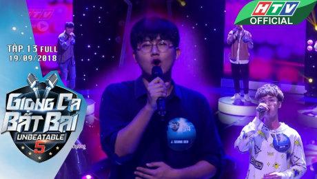 Xem Show GAMESHOW Giọng Ca Bất Bại Tập 13 :  Xuất hiện thí sinh người Hàn Quốc tự tin đánh bại các Ngôi Sao HD Online.