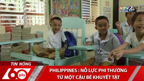 Xem Clip Philippines : Nỗ Lực Phi Thường Từ Một Cậu Bé Khuyết Tật HD Online.
