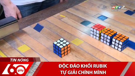 Xem Clip Độc Đáo Khối Rubik Tự Giải Chính Mình HD Online.