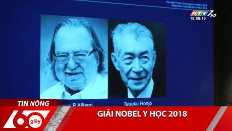 Xem Clip Giải Nobel Y Học 2018 HD Online.