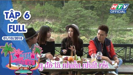 Xem Show TRUYỀN HÌNH THỰC TẾ Trăng Mật Diệu Kỳ Tập 06 : Thanh Duy nói yêu vợ trên đồi thông lãng mạn HD Online.