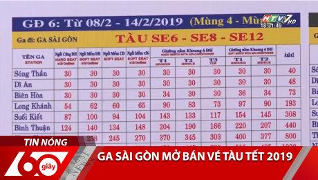 Xem Clip Ga Sài Gòn Mở Bán Vé Tàu Tết 2019 HD Online.