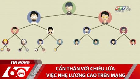 Xem Clip Cẩn Thận Với Chiêu Lừa Việc Nhẹ Lương Cao Trên Mạng HD Online.