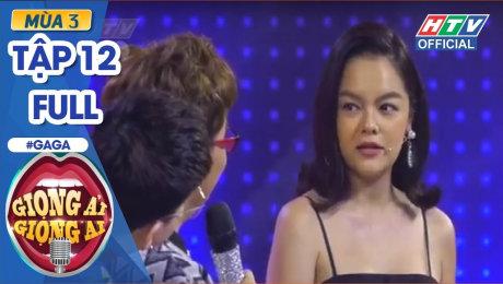 Xem Show TV SHOW Giọng Ải Giọng Ai Mùa 3 Tập 12 : Phạm Quỳnh Anh đòi bỏ về vì giận Trấn Thành HD Online.