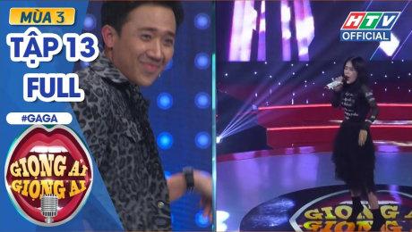 Xem Show GAMESHOW Giọng Ải Giọng Ai Mùa 3 Tập 13 : Lan Ngọc lầy lội bất chấp khiến Thành - Giang cạn lời HD Online.