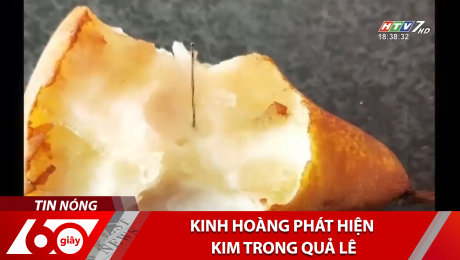 Kinh Hoàng Phát Hiện Kim Trong Quả Lê