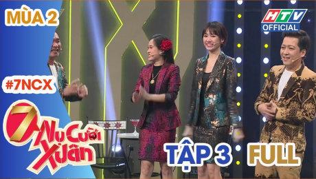 Xem Show GAMESHOW 7 Nụ Cười Xuân Mùa 2 Tập 03 : Trường Giang ngỡ ngàng Thúy Ngân chơi lầy bất chấp HD Online.