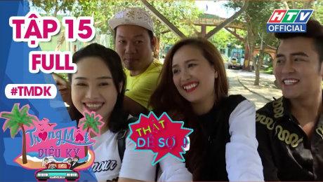 Xem Show TRUYỀN HÌNH THỰC TẾ Trăng Mật Diệu Kỳ Tập 15 : Long đẹp trai tình nguyện làm anh trai nắng cho vợ HD Online.
