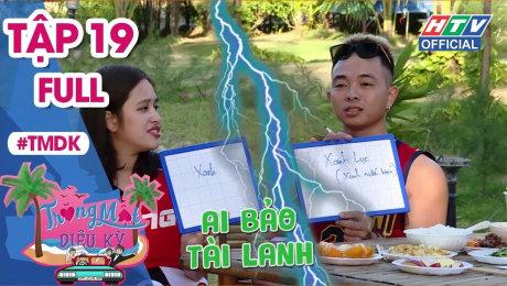 Xem Show TRUYỀN HÌNH THỰC TẾ Trăng Mật Diệu Kỳ Tập 19 : Khánh Đặng chứng minh mình là -anh chồng quốc dân- HD Online.