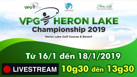 TRỰC TIẾP: Giải Golf chuyên nghiệp  VPG 2019