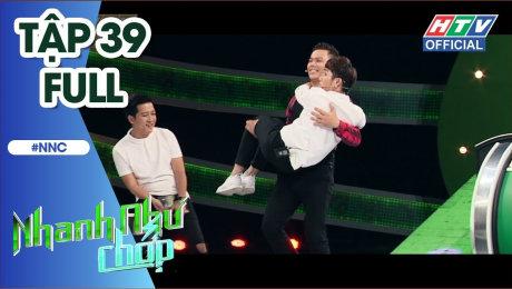 Xem Show TV SHOW Nhanh Như Chớp Tập 39: Huỳnh Lập-Quang Trung-Thanh Vàng chống team Midu-Jun Vũ-Will HD Online.