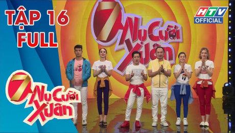 Xem Show TV SHOW 7 Nụ Cười Xuân Mùa 2 Tập 16: Lâm Khánh Chi và Anh Thư chạy tán loạn khi được mời ăn HD Online.