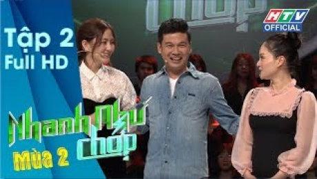 Xem Show TV SHOW Nhanh Như Chớp - Mùa 2 Tập 02: Vợ chồng Vinh Râu siêu lầy, Phương Lan làm Trường Giang đau đầu HD Online.