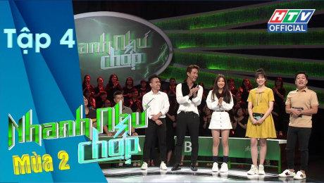 Xem Show GAMESHOW Nhanh Như Chớp - Mùa 2 Tập 04 : Lần đầu tiên Trường Giang -thất thủ- trước Hari HD Online.
