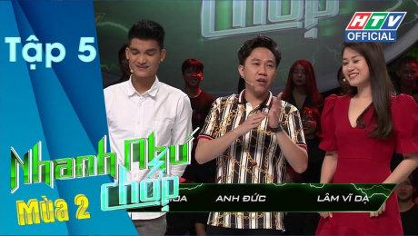 Xem Show TV SHOW Nhanh Như Chớp - Mùa 2 Tập 05 : Đội mạnh Lâm Vỹ Dạ-Anh Đức-Mạc Văn Khoa có phá dớp thua HD Online.