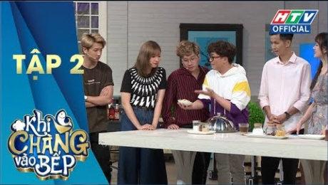 """Xem Show GAMESHOW Khi Chàng Vào Bếp Mùa 2 Tập 02 : Khả Như - Phát La """"giả bộ"""" yêu trong 4 tiếng HD Online."""
