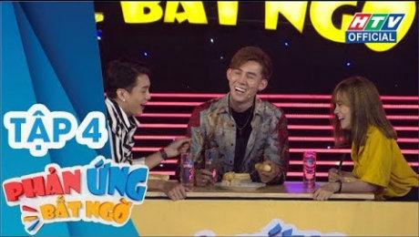 Xem Show TV SHOW Phản Ứng Bất Ngờ Tập 04 : Hạ Trâm, Gino Tống, Minh Dự nhảy trên nền nhạc chó sủa HD Online.