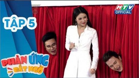 Xem Show TV SHOW Phản Ứng Bất Ngờ Tập 05 : Soái ca bolero Khắc Minh đụng độ Soái ca làng hài Huỳnh Quý HD Online.