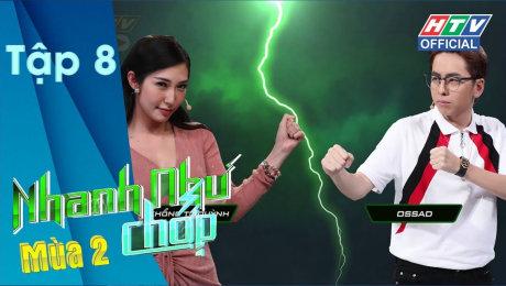 Xem Show GAMESHOW Nhanh Như Chớp - Mùa 2 Tập 08 : Trang Hí quyết tham gia để chứng minh mình không ngu HD Online.