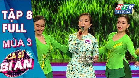 Xem Show TV SHOW Ca Sĩ Bí Ẩn Mùa 3 Tập 08 : MC Quyền Linh diện dép tổ ong cực duyên dáng HD Online.