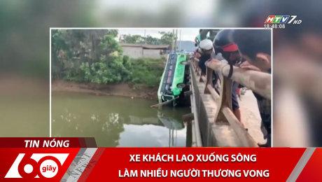Xe Khách Lao Xuống Sông Làm Nhiều Người Thương Vong