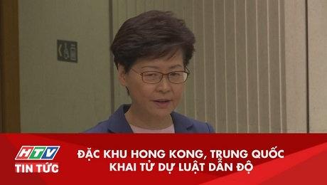 Xem Clip Đặc Khu Hồng Kông, Trung Quốc Khai Tử Luật Dẫn Độ HD Online.