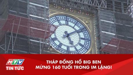 Xem Clip Tháp Đồng Hồ BigBen Mừng 160 Tuổi Trong Im Lặng HD Online.