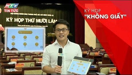 Xem Clip Lần Đầu Tiên Hội Đồng Nhân Dân Thành Phố Tổ Chức Cuộc Họp Không Giấy HD Online.