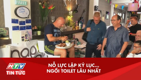 Nỗ Lực Lập Kỷ Lục Ngồi Toilet Lâu Nhất