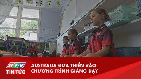 Australia Đưa Chương Trình Thiền Vào Giảng Dạy