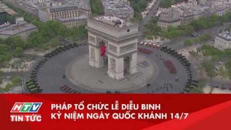 Pháp Tổ Chức Lễ Diễu Binh Kỷ Niệm Ngày Quốc Khánh 14 - 7