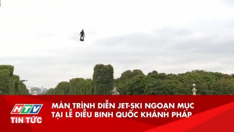 Màn Trình Diễn Jet-ski Ngoạn Mục Tại Lễ Diễu Binh Quốc Khánh Pháp