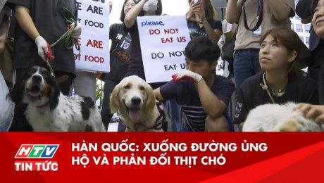 Xem Clip Hàn Quốc Xuống Đường Ủng Hộ và Phản Đối Thịt Chó HD Online.