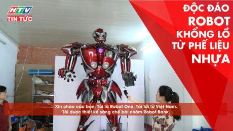Xem Clip Độc Đáo Robot Khổng Lồ Từ Phế Liệu Nhựa HD Online.